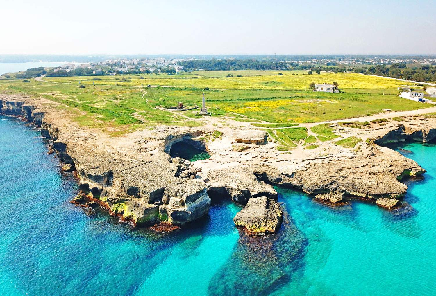 Cave-of-Poetry-roca-puglia-italy-swimming-natural-pool-aerial