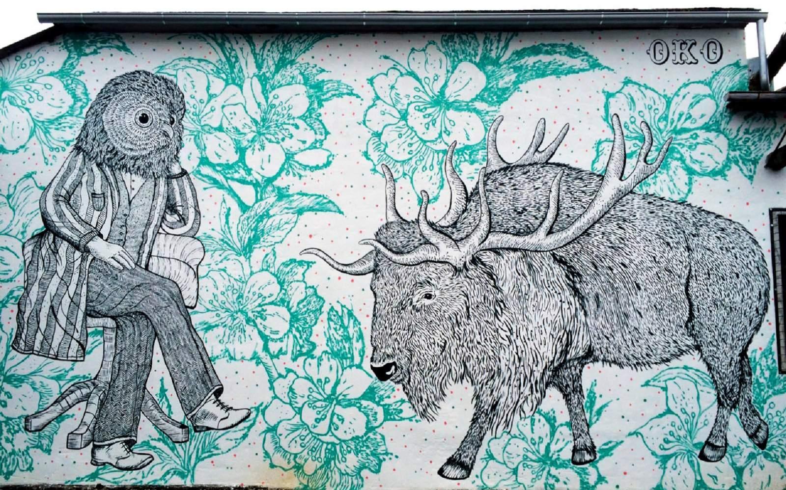 OKO Zagreb croatia street art