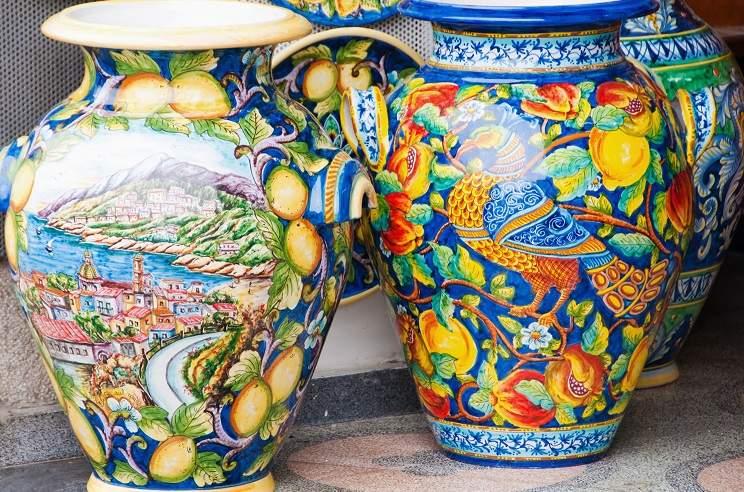 amalfi-ceramics-maiolica-painted-vases