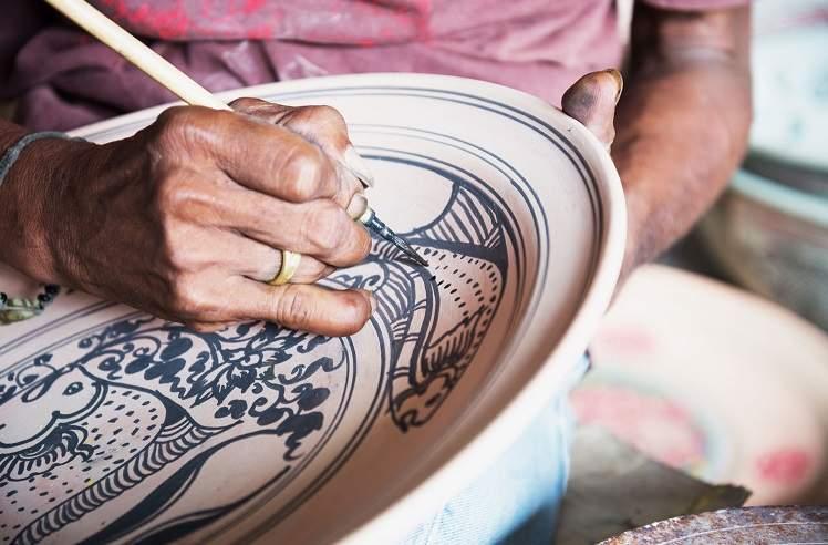 amalfi-ceramics-maiolica-painting