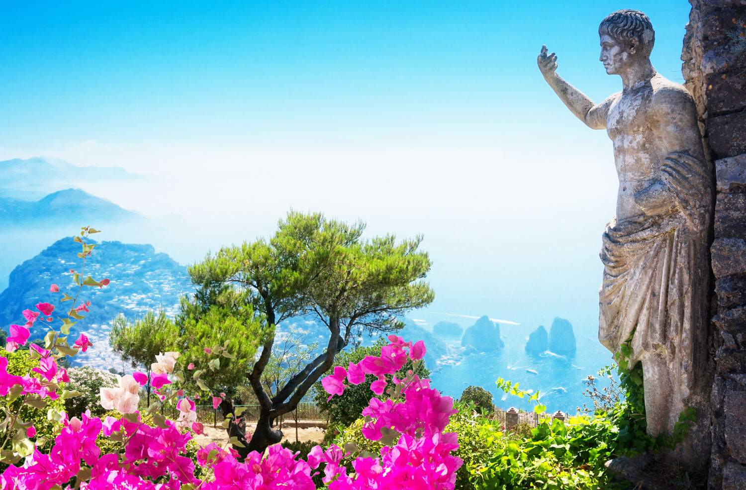 capri-amalfi-coast-statue-islands-italy-travel