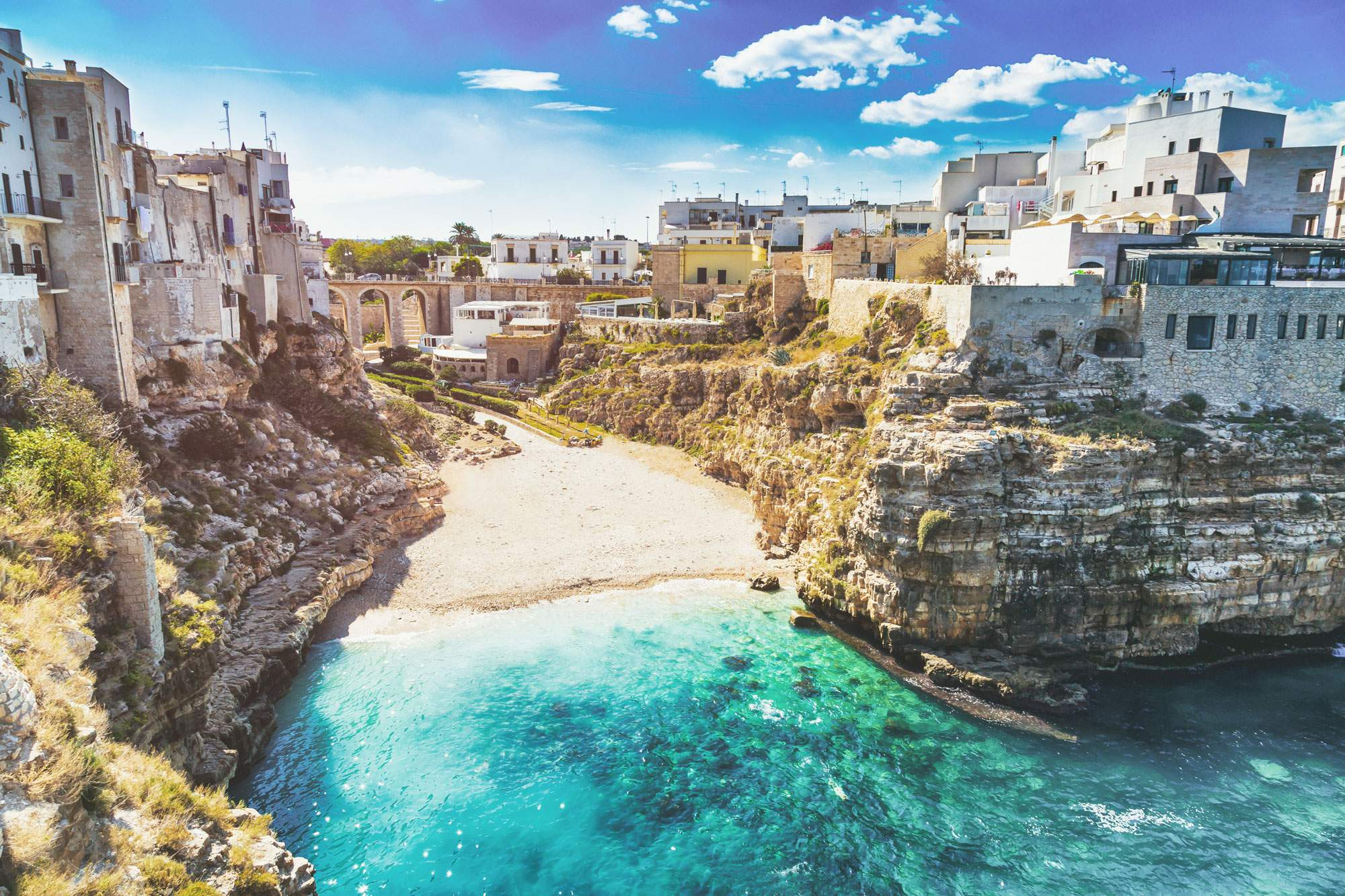 Polignano a Mare, Puglia road trip itinerary