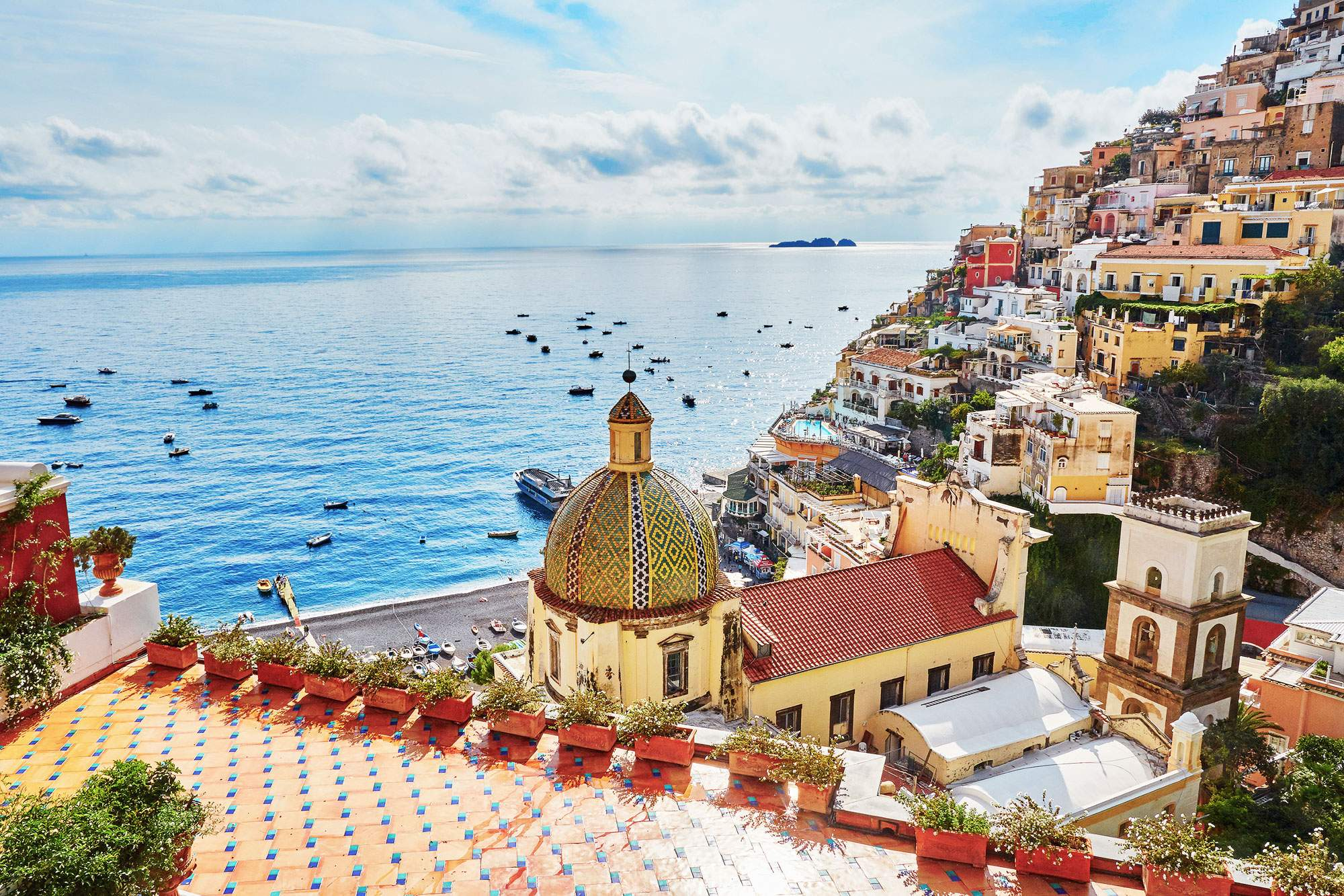 positano-amalfi-coast-town-church-italy-seaview