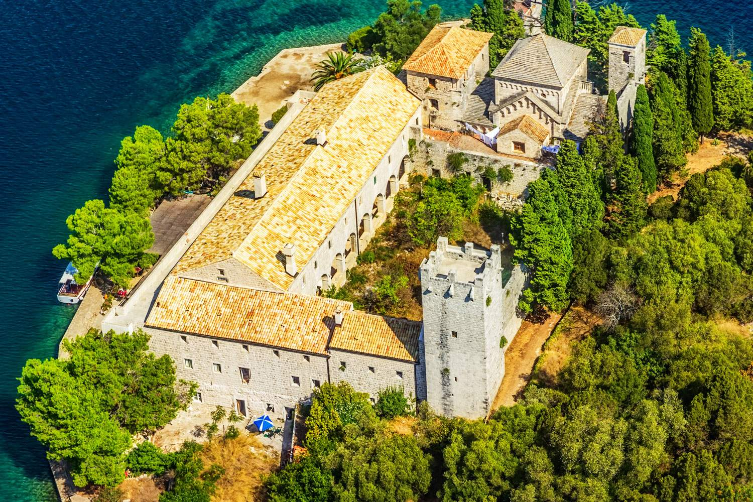 mljet-national-park-croatia-best-sunset-church