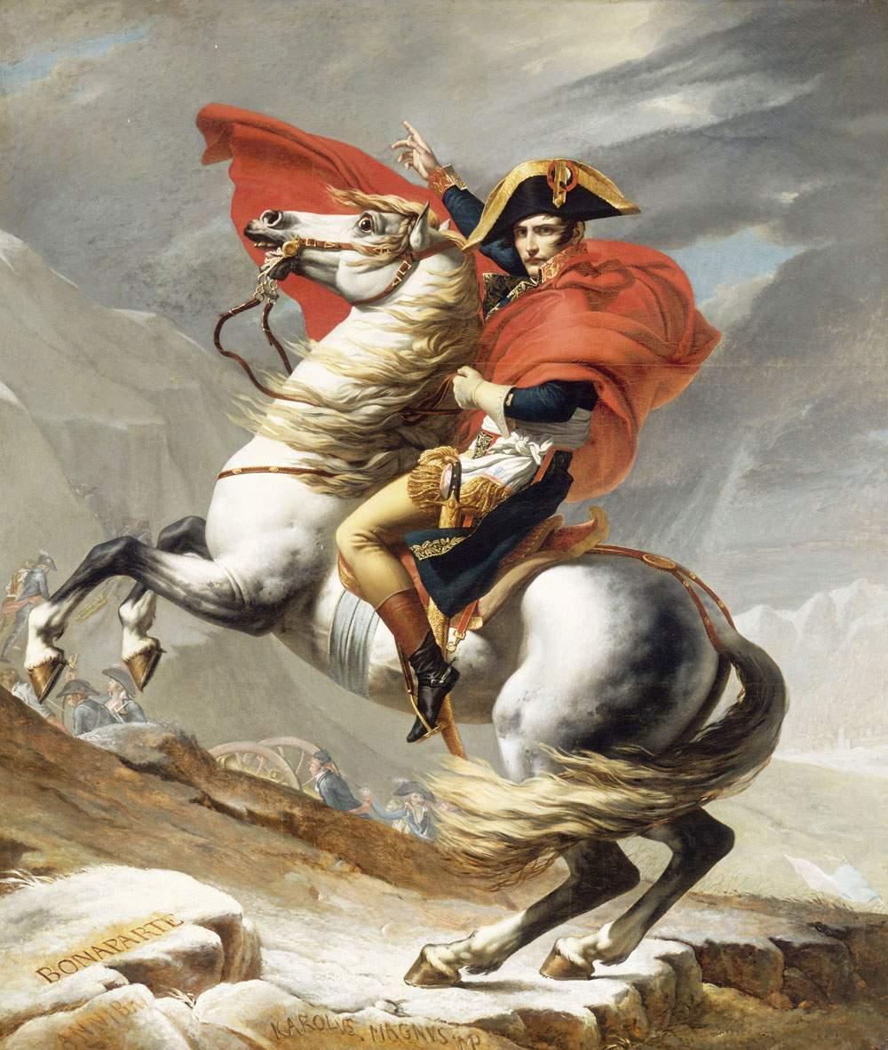 romantic-napoleon-crossing-alps-what-soldiers-ate