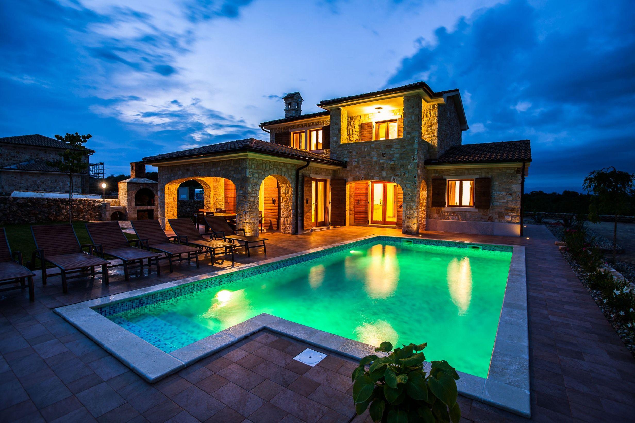 villa mare krk island rental