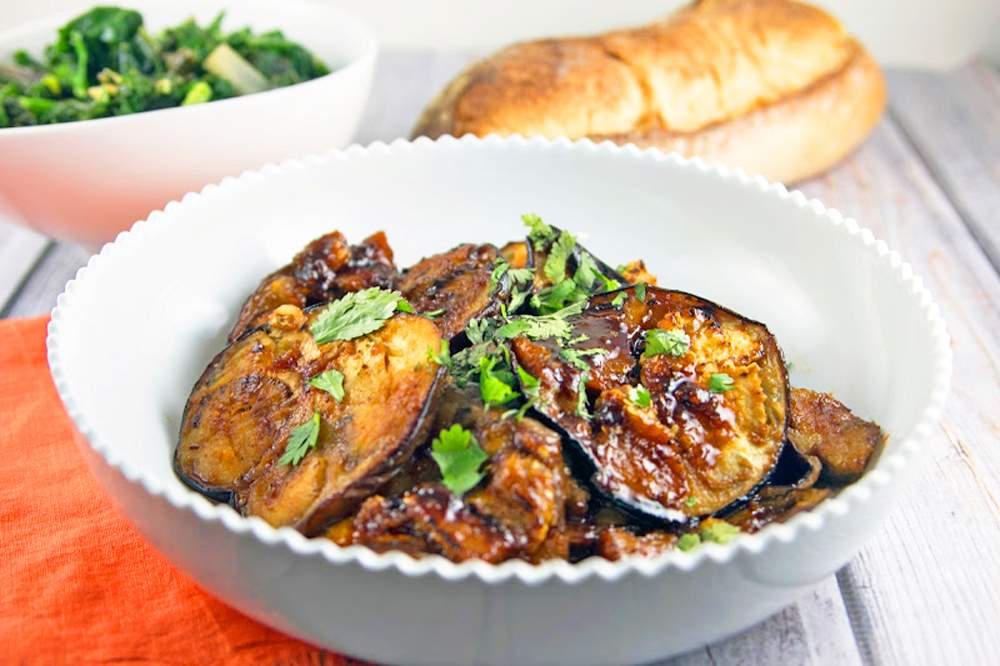 Moroccan-Honey-Glazed-Eggplant-veggie-food-mediterranean