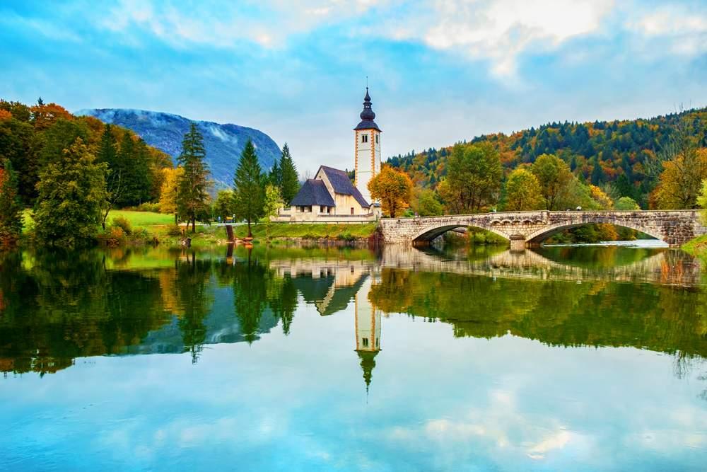 st-john-the-baptist-church-Ribčev-Laz-bohinj-slovenia