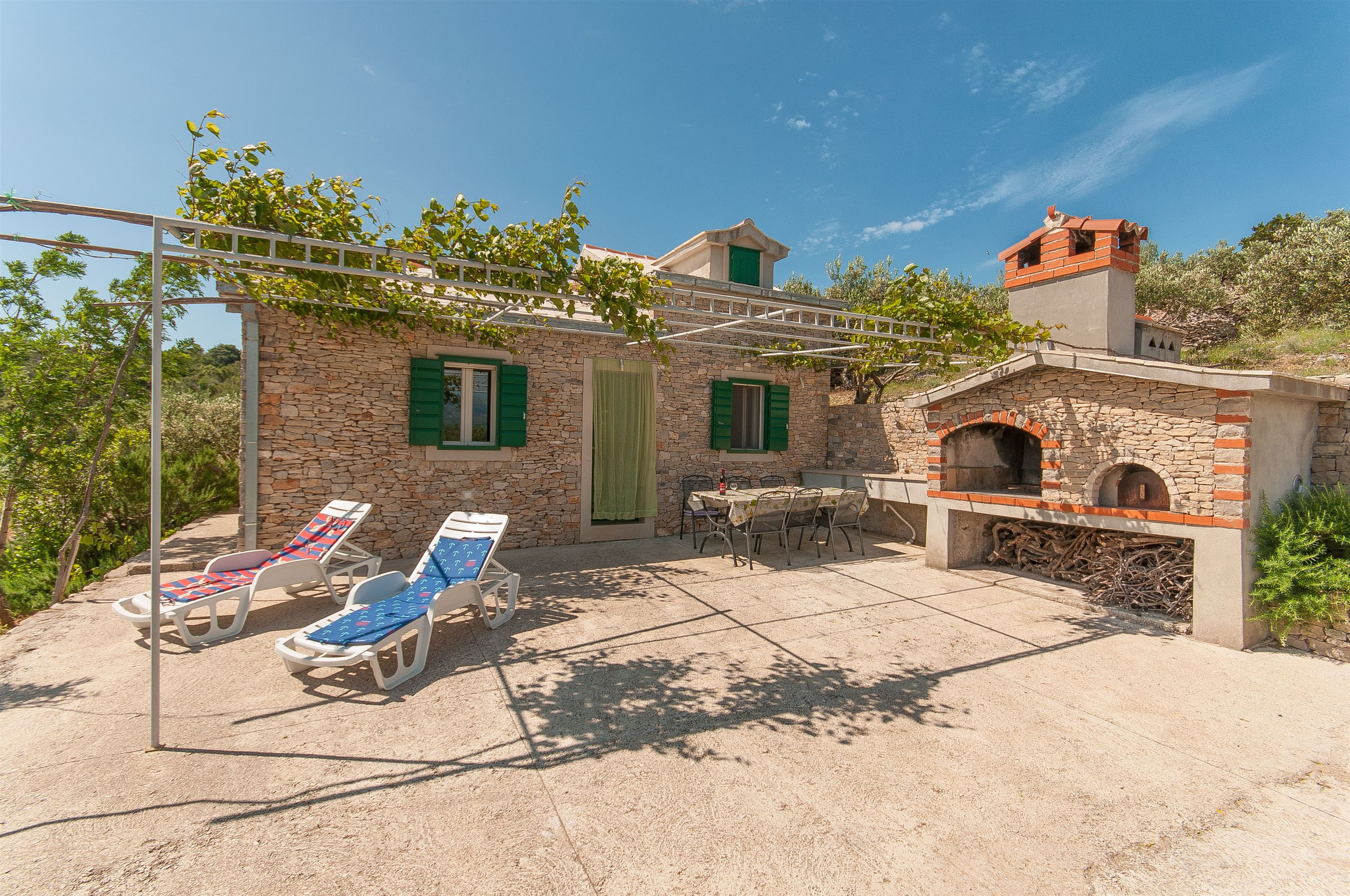 house branko brac island rental croatia