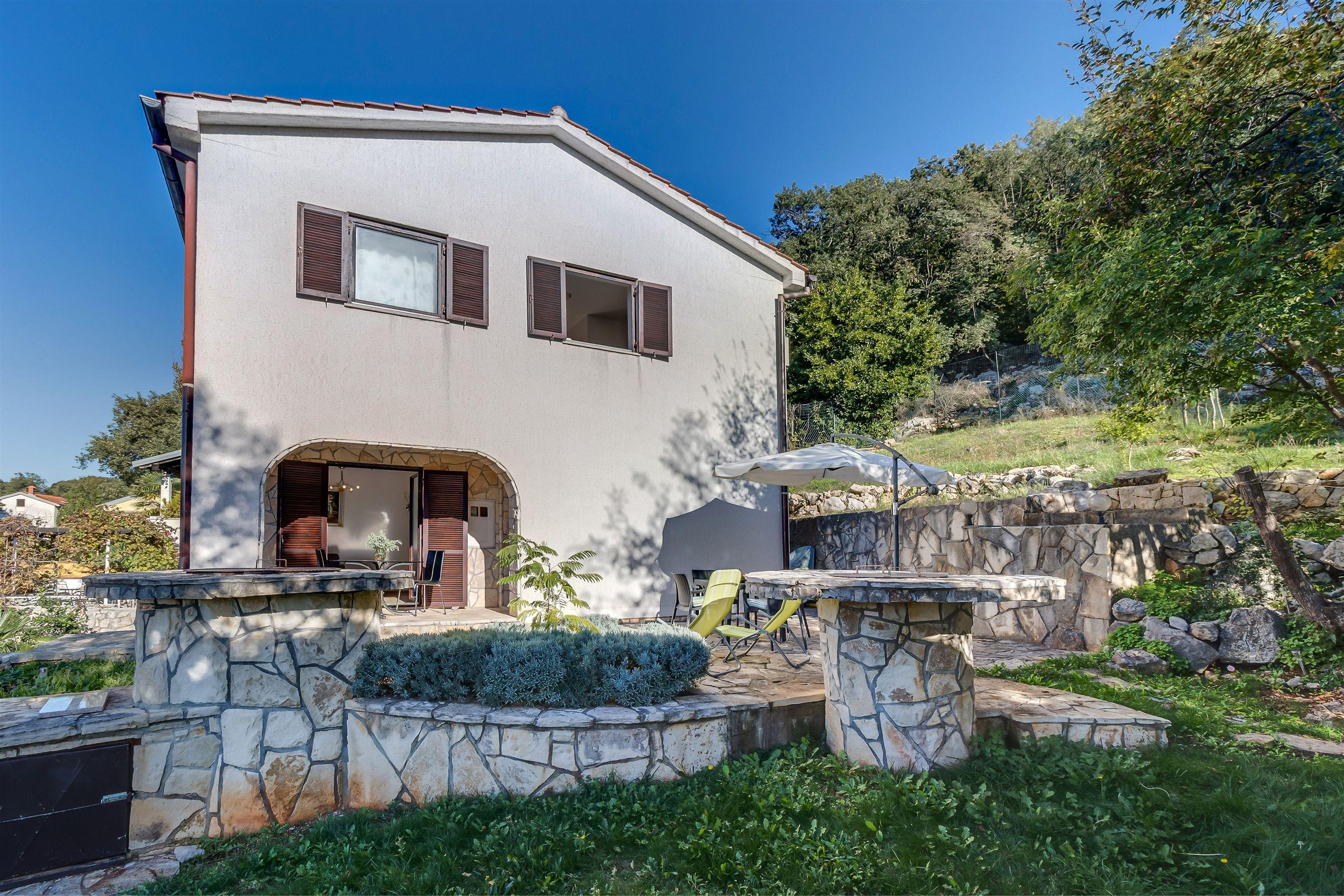 house erika cres island vacation rental croatia
