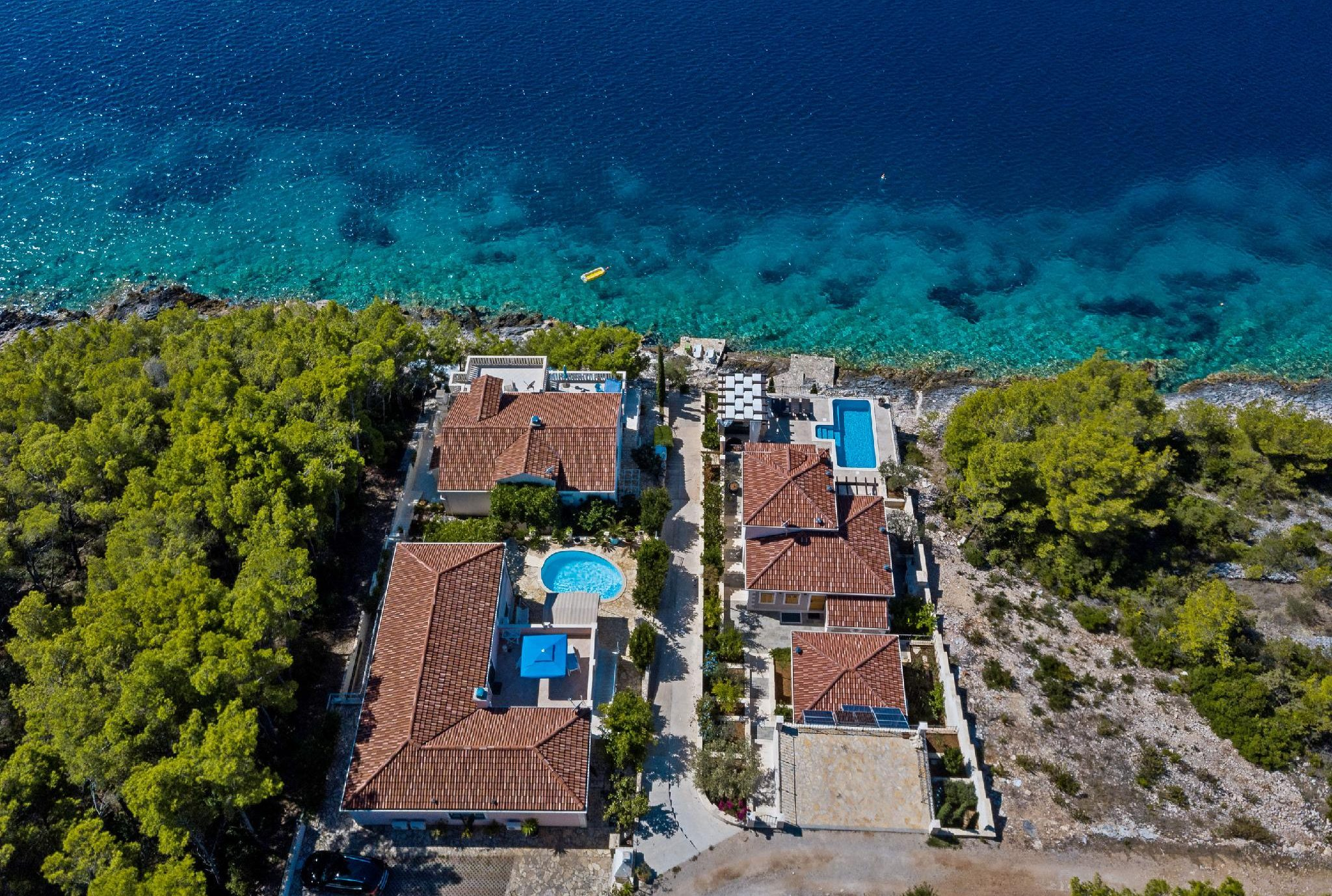 villa rosada korcula island croatia vacation rental