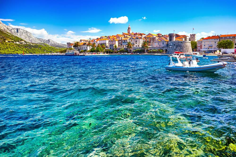 korcula-town-adriatic-sea