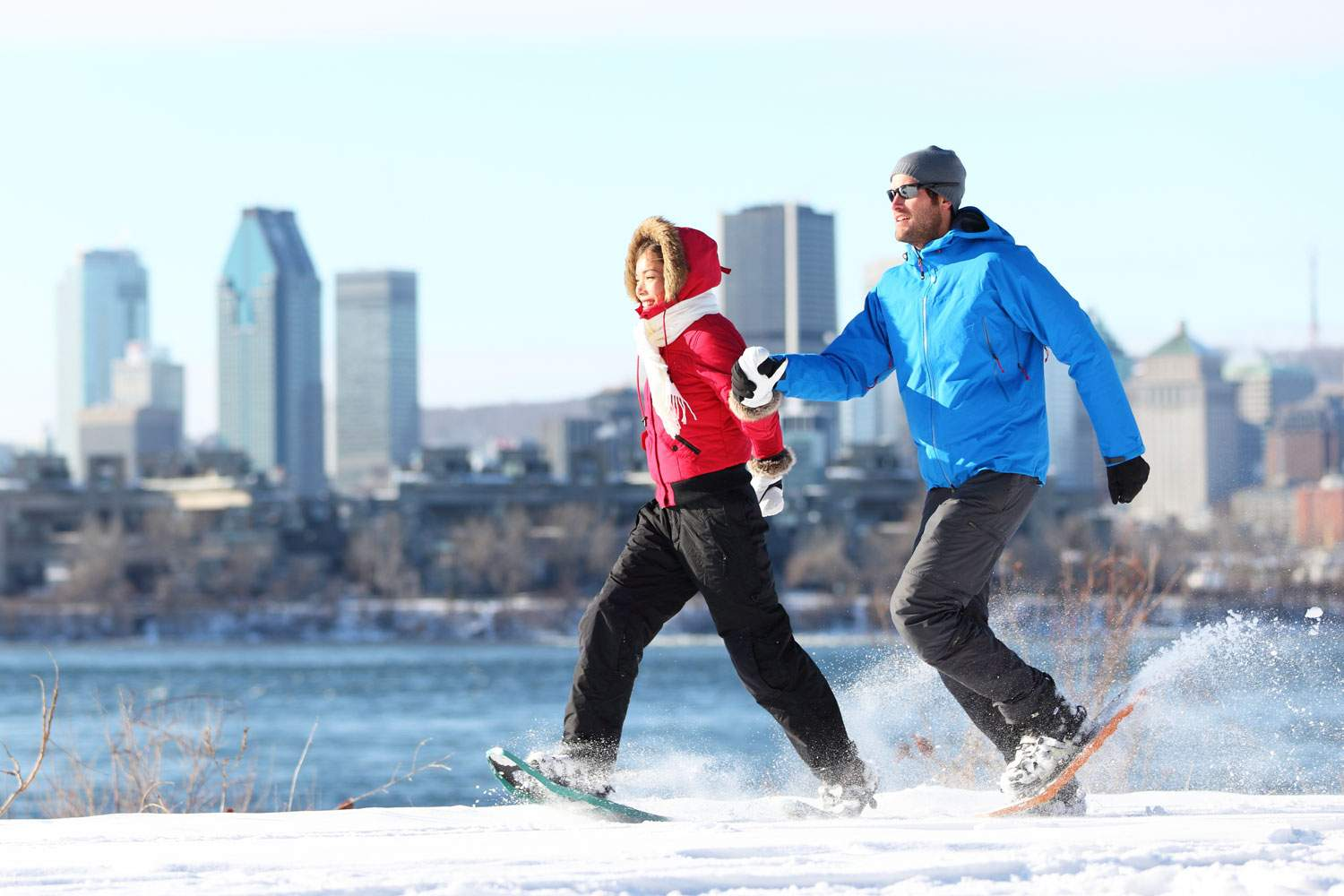 montreal-snowshoe-winter-sports-canal